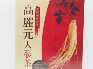高麗元人蔘茶隨身茶包禮盒