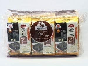韓國有名莞島海苔-胡蔴油口味
